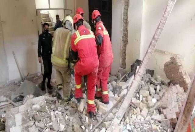 ریزش آوار مرگبار در حکیمیه تهران