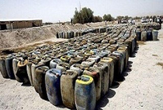 کشف ۳۲ هزار لیتر بنزین قاچاق در کنارک