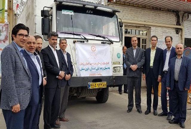 ارسال بیش از 750 میلیون ریال کمک های مردمی بهزیستی به سیل زدگان خوزستان