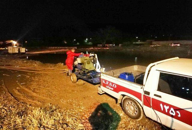 2 کشته در سیل  دیشب مشهد اردهال کاشان