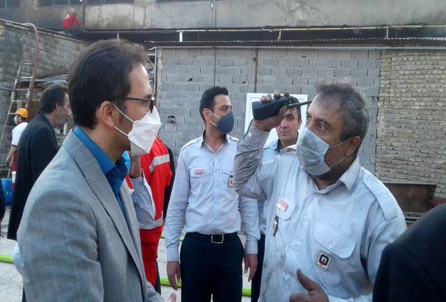 لزوم بررسی ابعاد آتش سوزی های اخیر کارگاهی در پردیس/ دومین کارخانه صنایع شیمیایی و پلیمیری در پردیس آتش گرفت