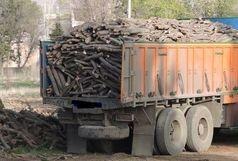 کشف 20 تن چوب قاچاق در بهار