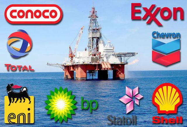 کاهش ۳۵.۴ درصدی درآمد شرکتهای بزرگ نفتی در ۲۰۲۰