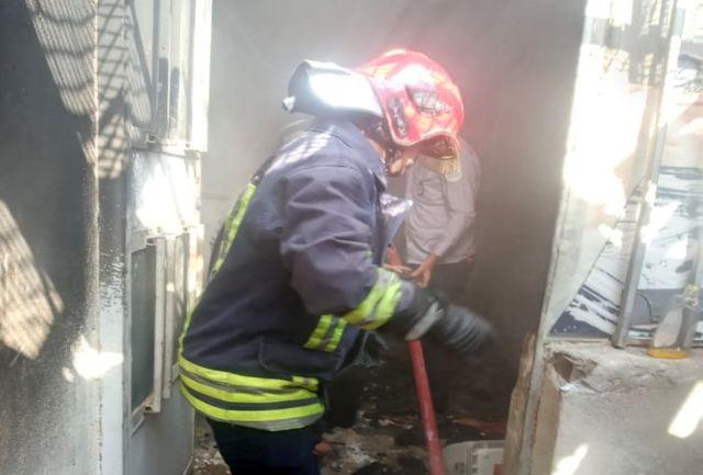 خودکشی جوان ۳۰ ساله اهوازی با آتش زدن خانه+ببینید
