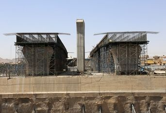 اجرای عملیات عمرانی پروژه تقاطع ولیعصر قم