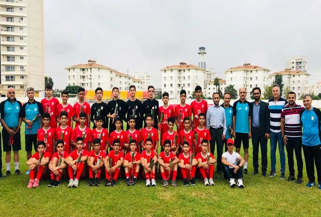 برگزاری اردوی تیم ملی نونهالان در بابلسر