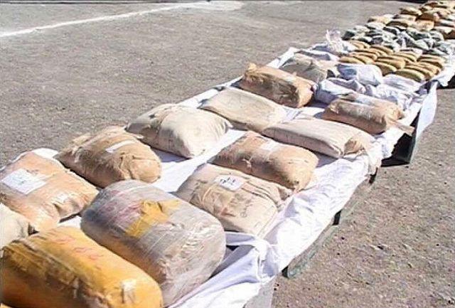 کشف بیش از سه تن مواد مخدر در ایرانشهر
