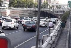 ترافیک سنگین در اکثر معابر پایتخت
