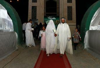 مراسم ازدواج ۶ زوج جوان اروندکناری