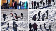 """شروع کلاسهای آموزش اسکی برای اولین بار در پیست اسکی تمندر الیگودرز/ تیم اسکی لرستان امسال در مسابقات """"اسکی آلپاین"""" شرکت می کند"""