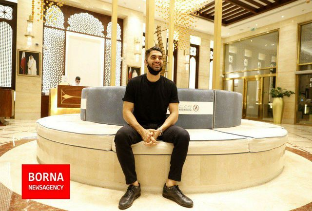 بلاتکلیفی ستاره استقلالی در قطر