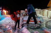 رها سازی ۱۵ خودروی گرفتار شده در عملیات امدادی شب گذشته/ اسکان اضطراری و توزیع اقلام غذایی به مسافرین