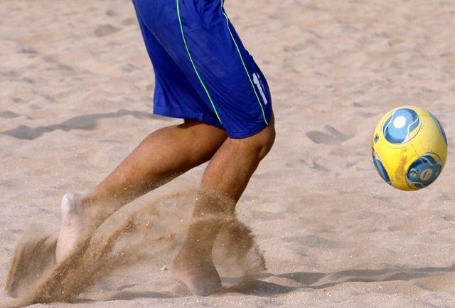 فوتبالیستهای ساحلی ایران با برد آغاز کردند