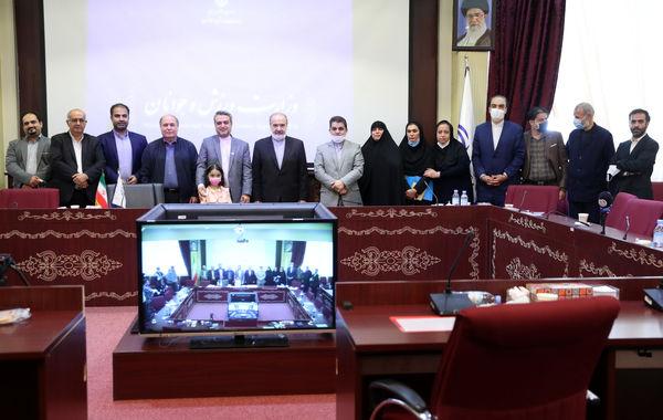 دیدار شورای سردبیری خبرگزاری برنا و مدیران روابط عمومی وزارت ورزش و جوانان با دکتر سلطانی فر