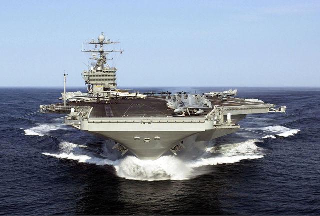 حمله موشکی ناو هواپیمابر آمریکا به سوریه