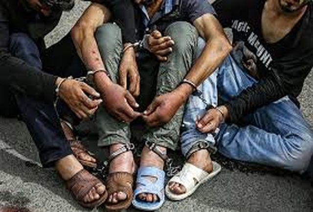 دستگیری باند سارقان مسلح مامورنما در شوش!