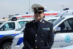 یک کشته و ۲ مصدوم در واژگونی خودروی پراید در تاکستان