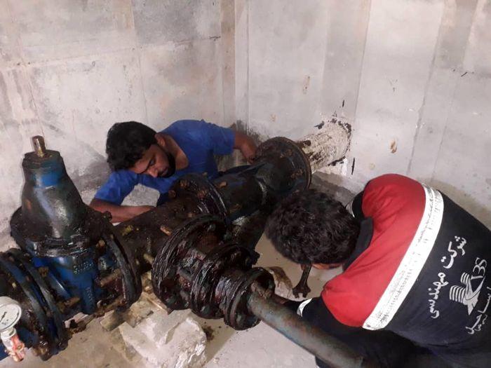 بهبود وضعیت آبرسانی به روستاهای بندرلنگه