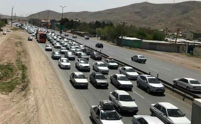 وضعیت ترافیک در محورهای کشور