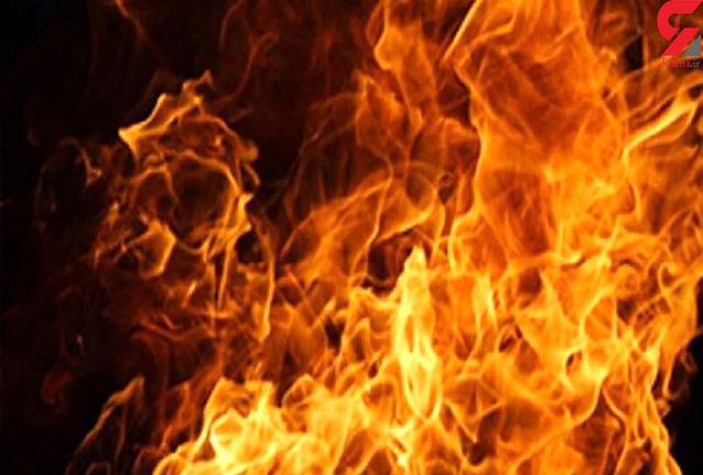 آتش سوزی مغازه لوازم خانگی در سنندج مهار شد