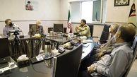 دیدار هیئت مدیره کانون تهیه کنندگان رسانه های دیداری با سردار حاجیان معاون اجتماعی ناجا/ پلیس دست در دست کانون تهیه کنندگان