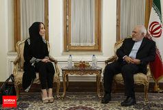 رئیس اتحادیه جهانی بین المجالس با ظریف دیدار کرد