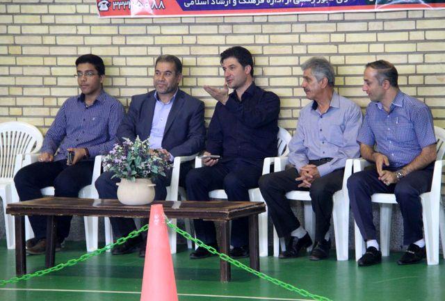 بازدید شهردار از خانه تکواندو سمنان