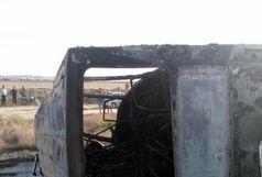 24 کشته و مصدوم در تصادف محور گنبد_ مراوه تپه
