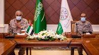 دیدار فرمانده ائتلاف سعودی با فرمانده اماراتی