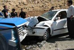 تصادف مرگبار در آزادراه ساوه-تهران/ ۵ کشته و ۳ مصدوم