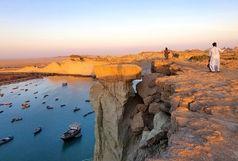 عکس سلفی جان یک گردشگر را در ارتفاعات بریس چابهار  گرفت