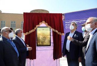 افتتاح از پروژه های مدیریت شهری منطقه 20 تهران