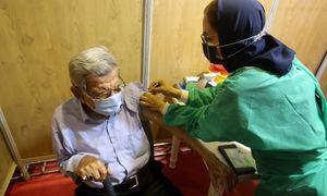 همه سالمندان در شیراز واکسن کرونا را دریافت می کنند