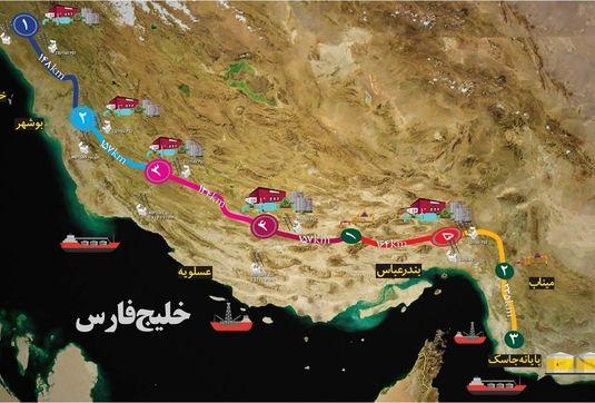 خط لوله گوره - جاسک؛ تنوع در روشهای صادرات نفت و توسعه منطقه مکران