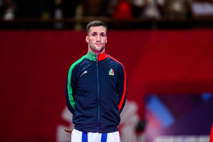 استاندار قم قهرمانی کاراته کای قمی در مسابقات جهانی را تبریک گفت