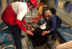 نجات کوهنورد مصدوم در ارتفاعات کوه دنا