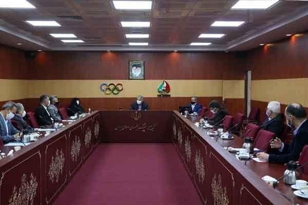 شصت و چهارمین نشست هیات اجرایی کمیته ملی المپیک برگزار شد