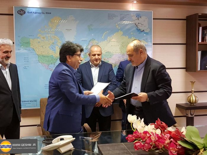 امضاء تفاهم نامه همکاری منطقه آزاد قشم و شرکت سوخت رسانی بین المللی اوج