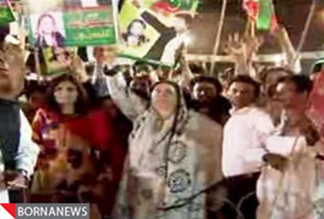 تظاهرات پاکستانیها بر ضد دولت