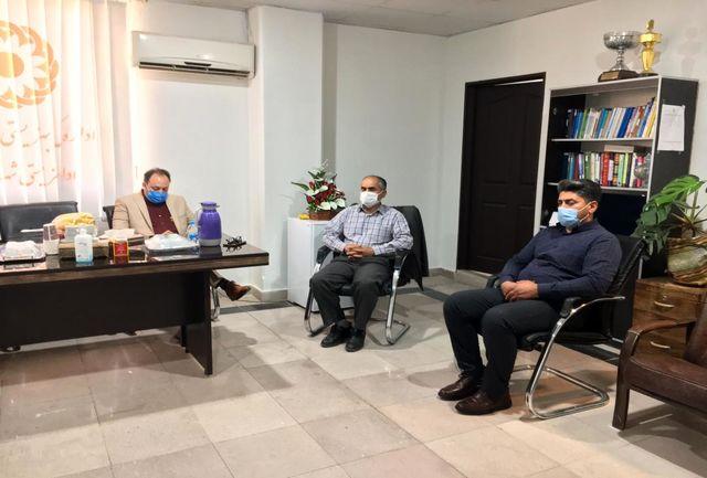 بازدید مسئولین بهزیستی استان تهران از شهرستان ملارد