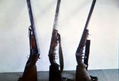 کشف 3 قبضه سلاح شکاری غیرمجاز در تالش