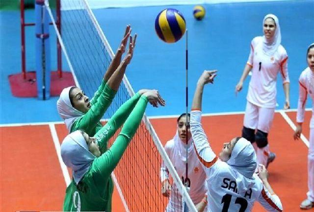 تیم والیبال شهرداری قزوین در برابر سروقامتان بابل به پیروزی رسید