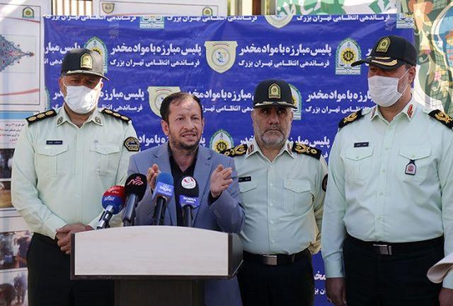 تهران 360 هزار معتاد دارد/ از هر 18 معتاد یک نفر متجاهر است/ وجود 1000 زن معتاد متجاهر در تهران