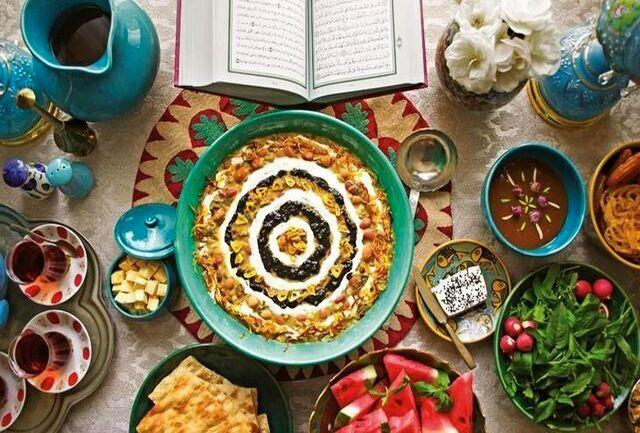 یک دستور غذایی عمومی در ماه مبارک رمضان
