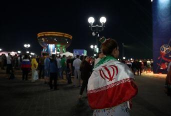 فن فست تمام ایرانی در کازان قبل از بازی اسپانیا- 1