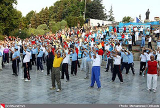 همایش بزرگ ورزش صبحگاهی در پارک ملت برگزار می شود
