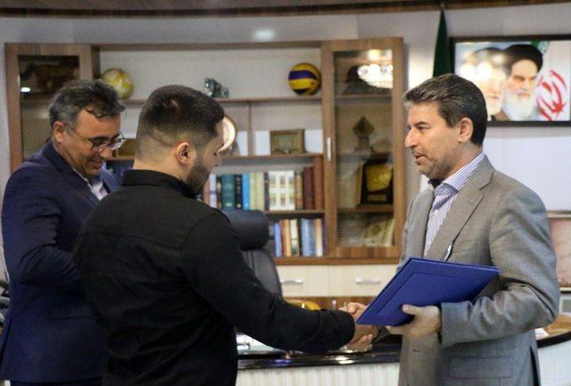 تقدیر استاندار آذربایجان غربی از علی میری قهرمان وزنه برداری