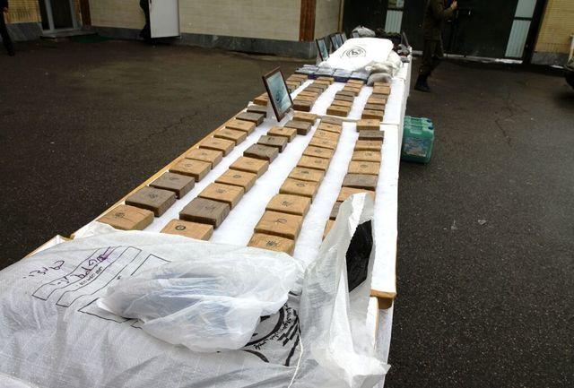 ۳۱۱ کیلوگرم مواد مخدر در یزد کشف شد