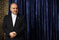 سلطانیفر تماشاگر ویژه بازی والیبال ایران مقابل ژاپن/ ببینید