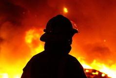 آتش سوزی در پاساژ لیدوما